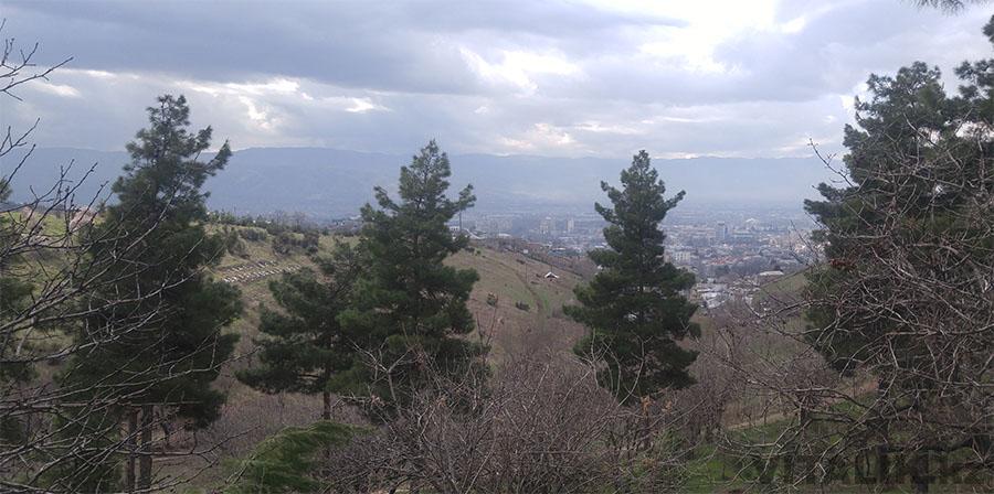 Душанбе панорама города