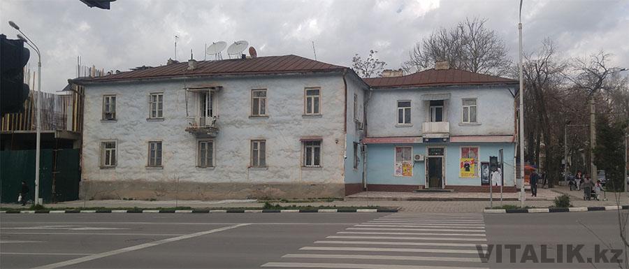 Душанбе старый дом