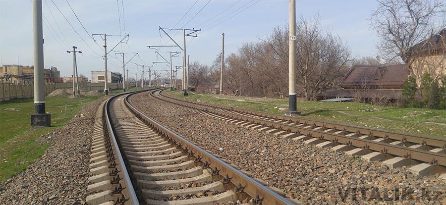 Железнодорожные пути Ташкент