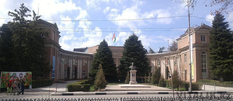 Здание Душанбе