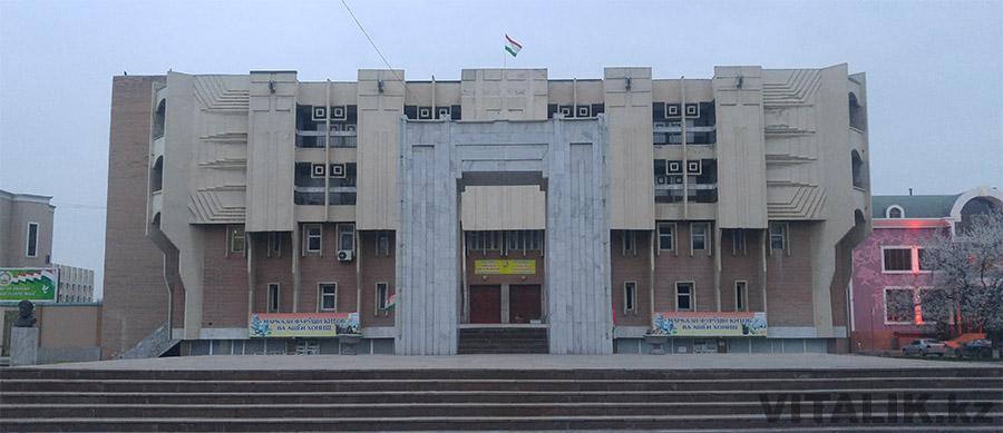 Здание проспект Сомони
