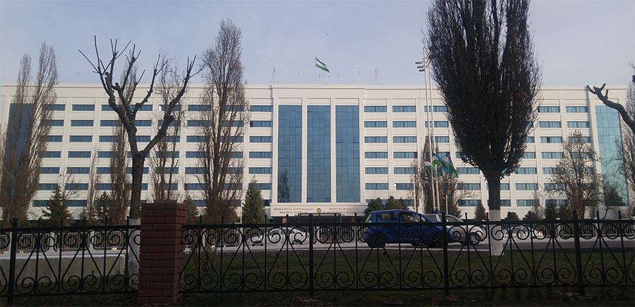 Здание проспект Улугбека Ташкент
