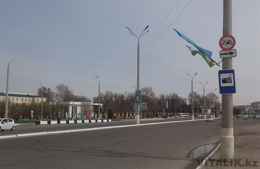 Знак с фотоаппаратом Ташкент