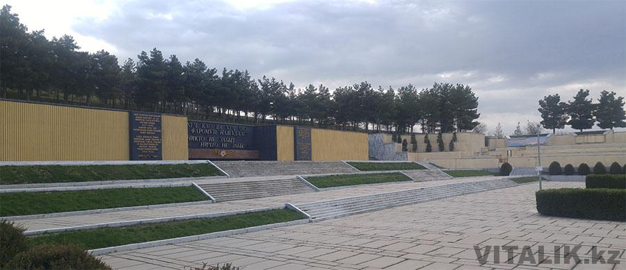 Мемориал Победы Душанбе панорама