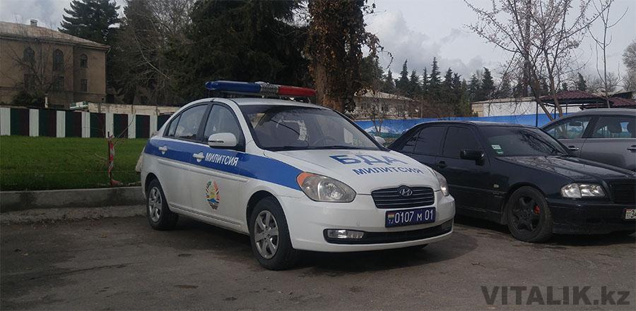 Милитсия Душанбе