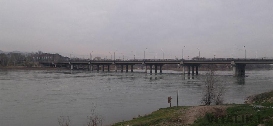 Мост через Сырдарью Гагарина