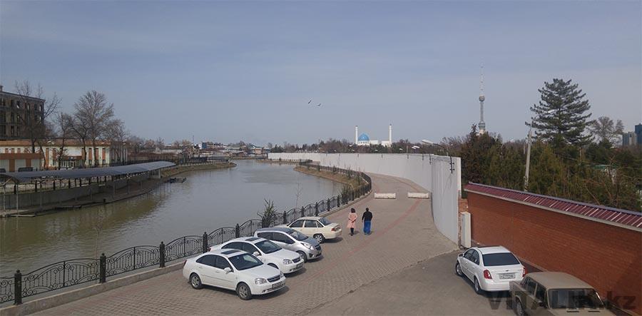 Набережная канала Анхор Ташкент