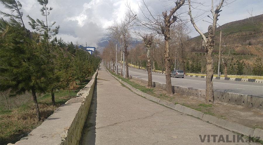Окраина Душанбе