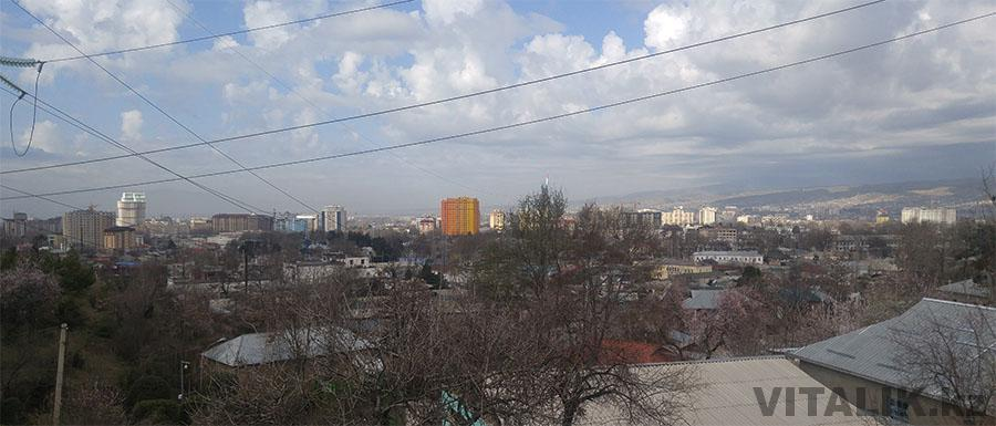 Панорама Душанбе
