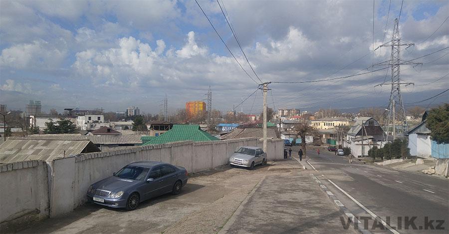 Парк Победы Душанбе дорога