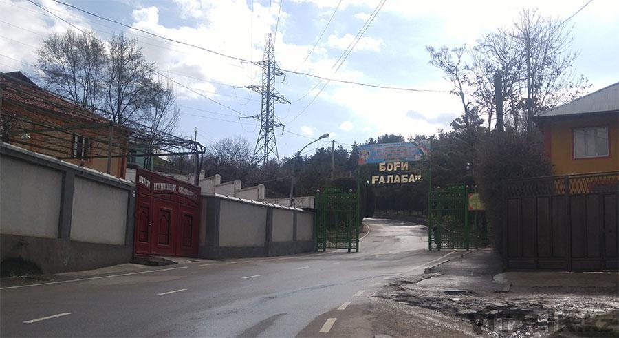 Парк Победы вход Душанбе