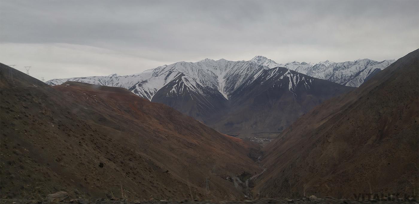 Перевал Душанбе Худжанд