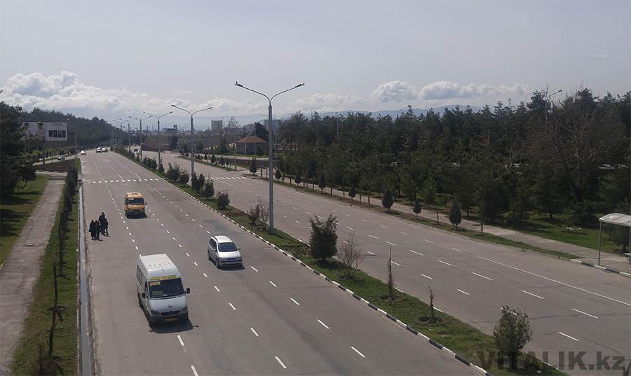 Проспект Хофиза Шерози мост