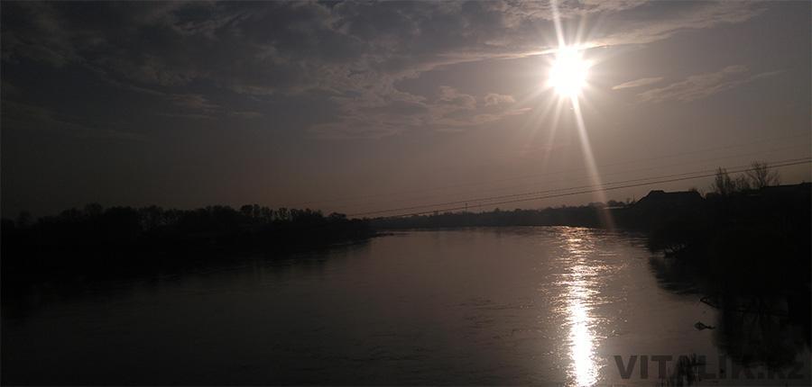 Рассвет над Сырдарьей
