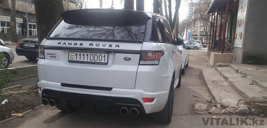Рейндж Ровер Душанбе