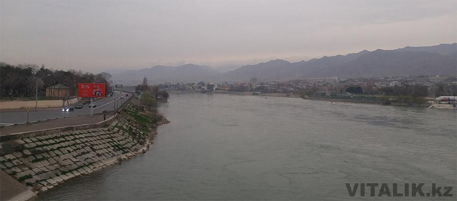 Река Сырдарья Худжанд