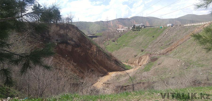 Речка Душанбе