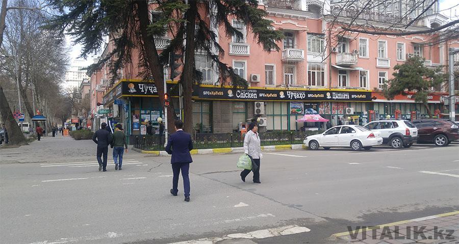Светофор Душанбе