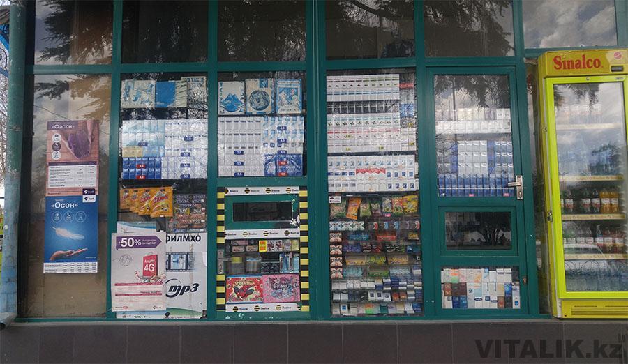 Сигареты в Душанбе