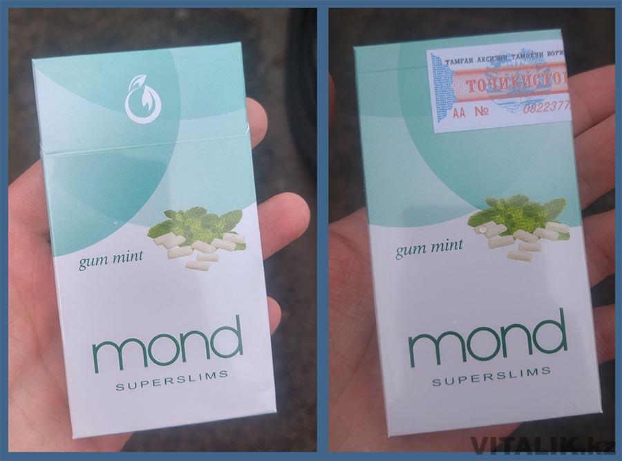 Сигареты Mond Gum mint
