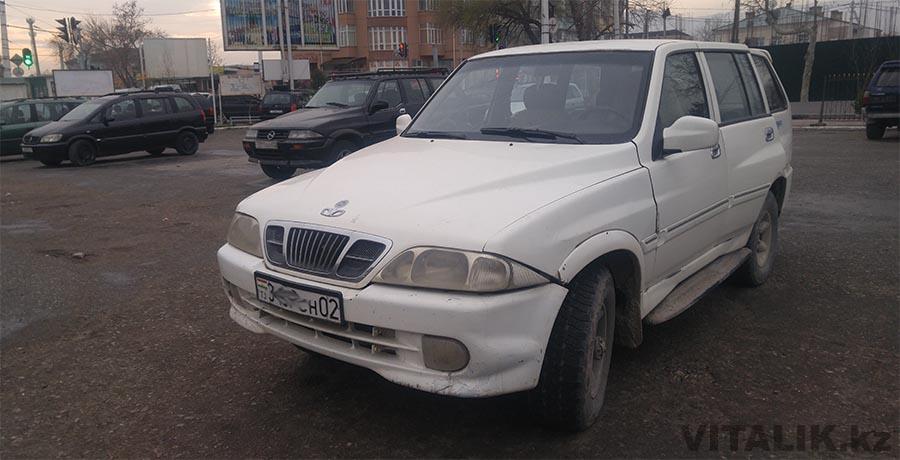 Ссанг йонг такси до Душанбе