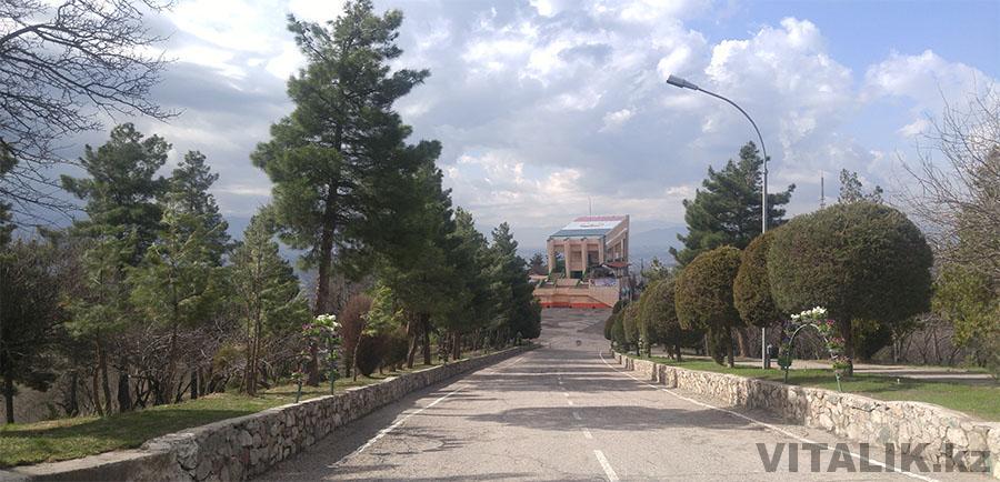 Станция фуникулера Парк Победы Душанбе
