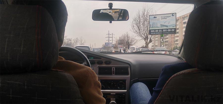 Ташкентское такси Нексия