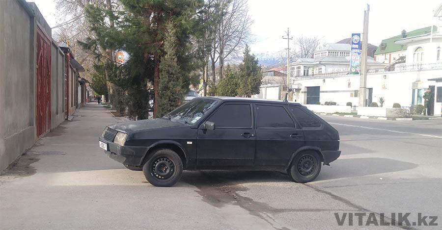 Тонированая девятка Душанбе