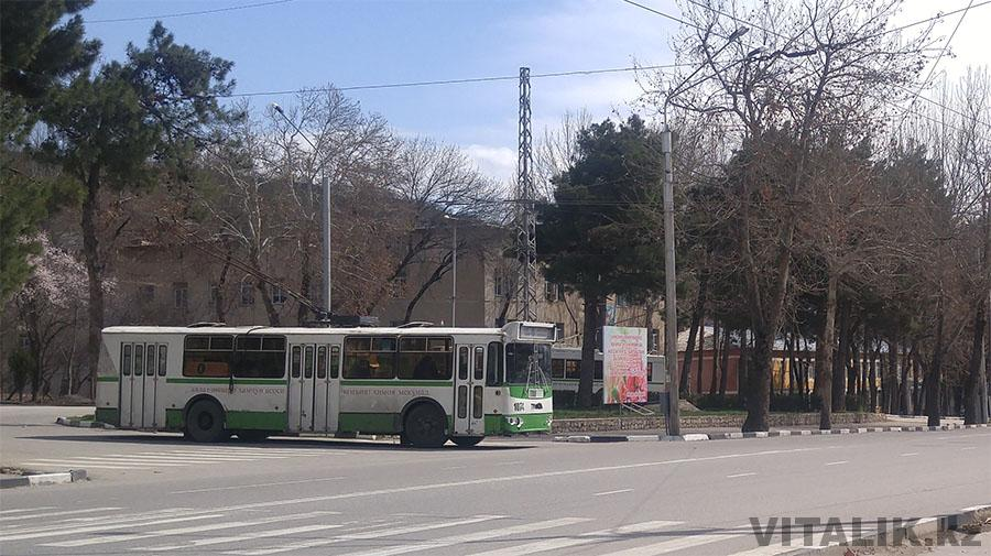Троллейбус Душанбе