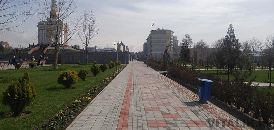 Тропинка Рудаки Душанбе