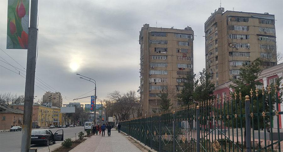Улица Айни Душанбе Дома