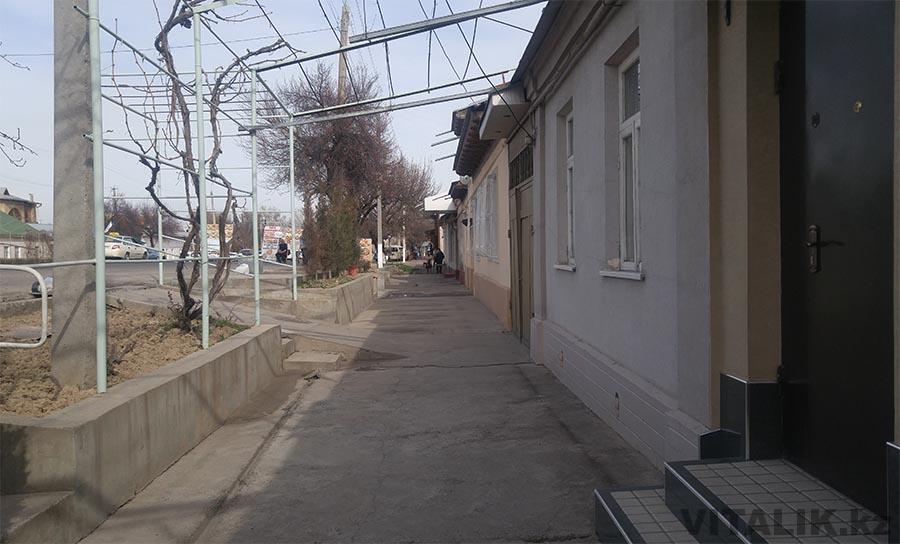 Улица Ташкента дома