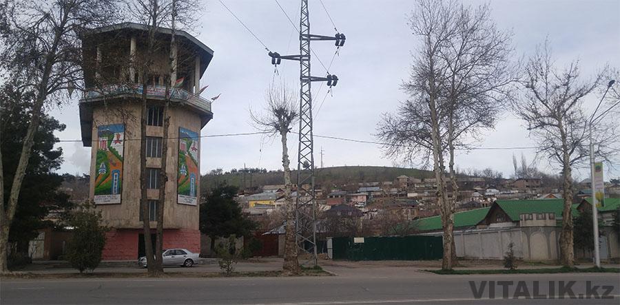 Фуникулерная станция Душанбе