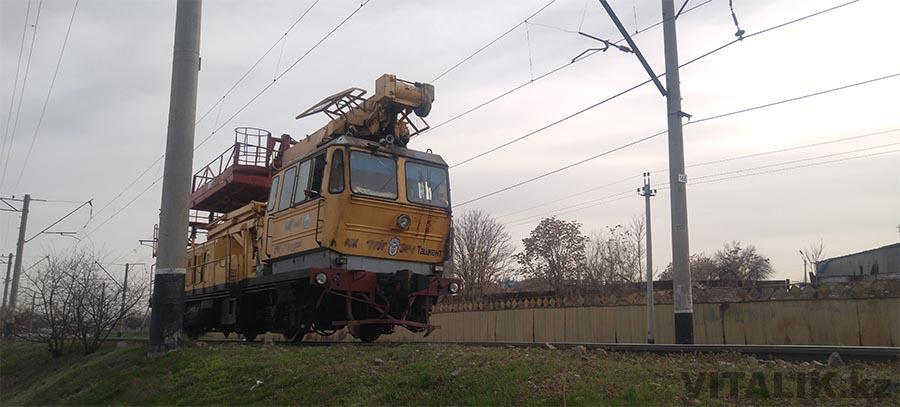 поезд жд пути Ташкент