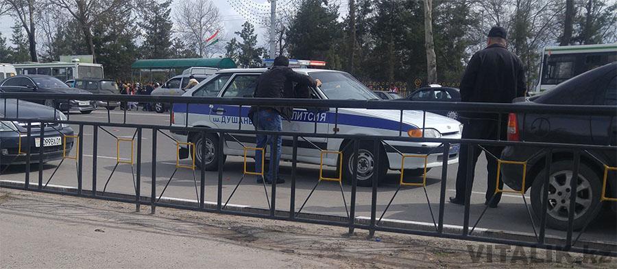 2114 полиция Душанбе