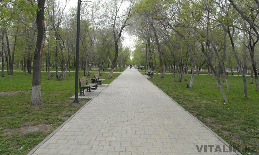 Аллея Астана парк