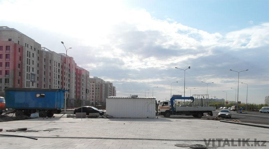 Въезд на EXPO Астана