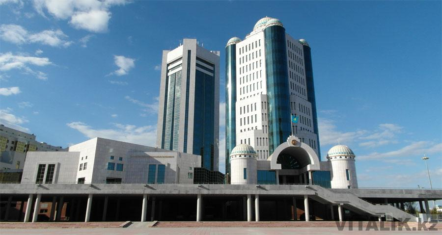 Здание парламента Астана