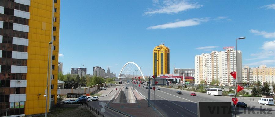 Мост Бараева Астана