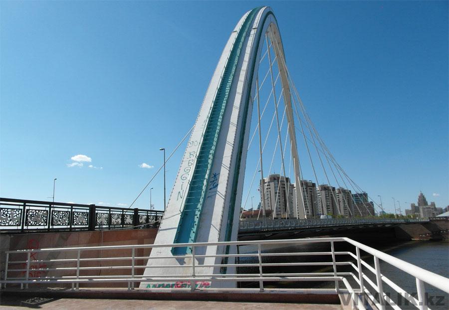 Мост через Ишим Кабанбай Батыра