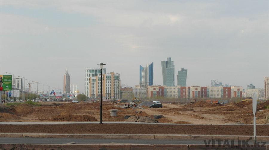 Нуржол вид издалека Астана