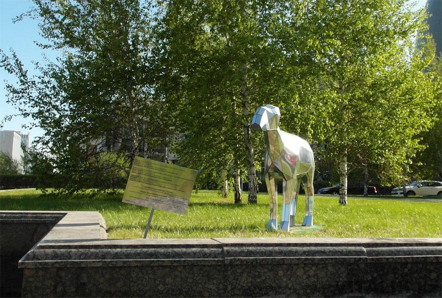 Скульптура сайгака нуржол