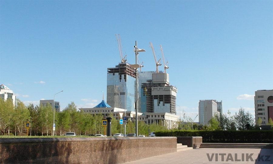 Строительство Астана