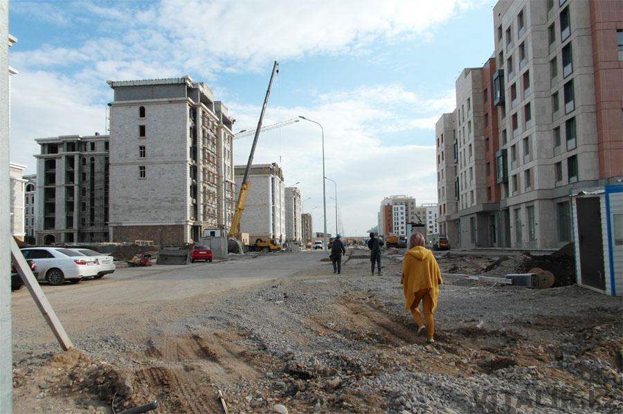 Строительство экспо в Астане