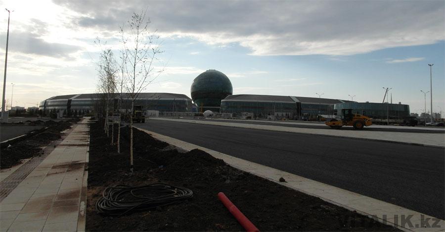 Строительство EXPO