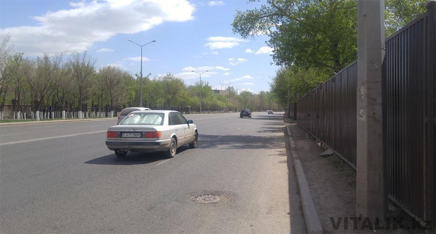 Тротуар улица Бараева