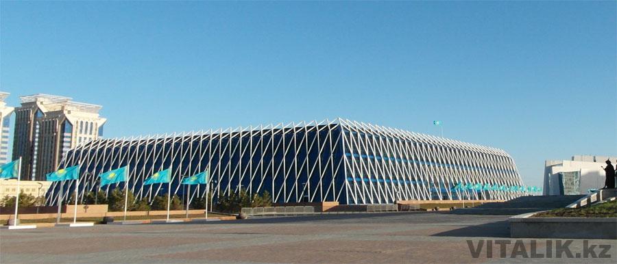 Футуристическое здание Астана