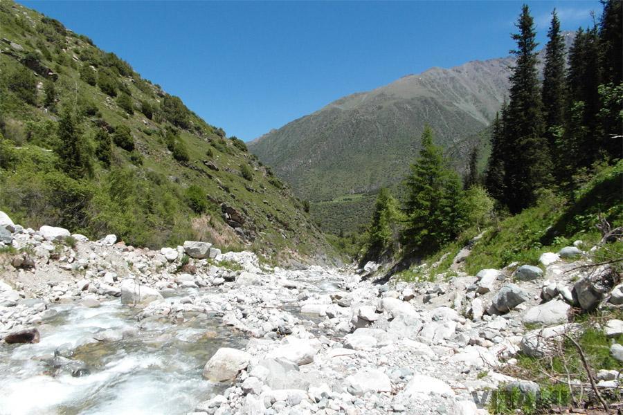 Горная река Кыргызстан