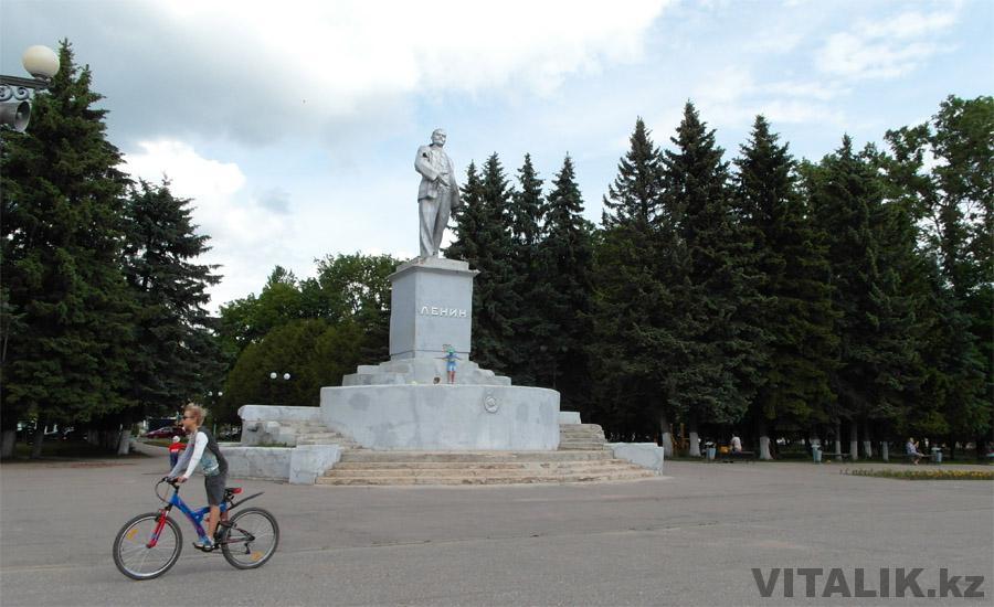 Памятник Ленину Ржев