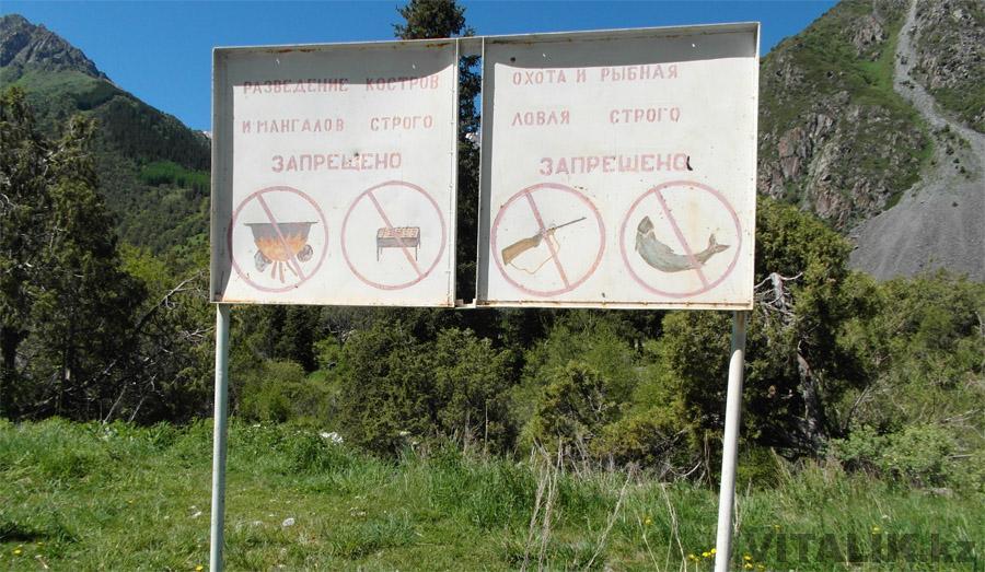 Разведение мангалов запрещено